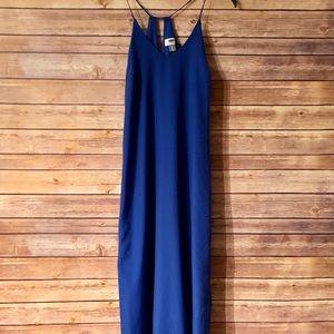 Old Navy cobalt maxi dress